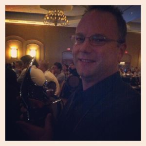 Kevin Kohen, the 2012 MASNA Aquarist of the Year Award winner.